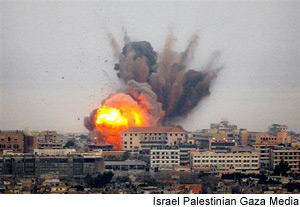 Israel Bombing Gaza