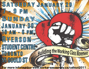 Greater Toronto�s Workers Assembly